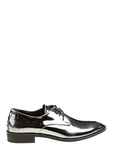 D by Divarese Oxford Ayakkabı Gümüş